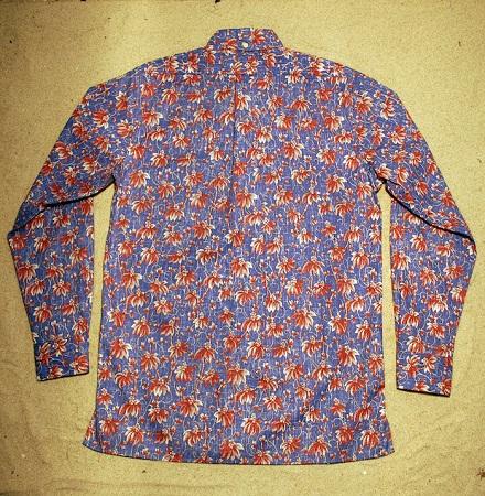 Skjorte med blomster print